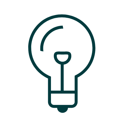 Teho Light bulb Icon